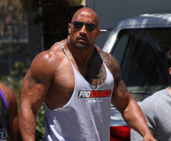 Hollywood stars on steroids