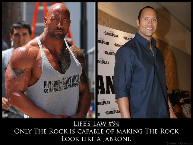 The Rock steroids