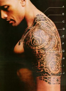 The Rock tattoo meaning