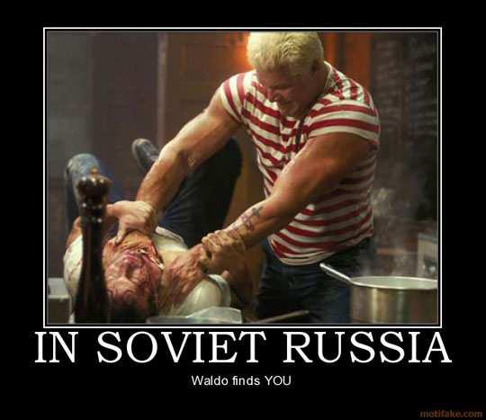 Kevin Nash The Russian The Punisher