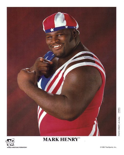 Mark Henry then and now