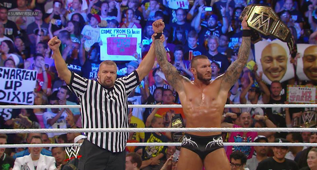 Randy Orton is the New WWE Champion!