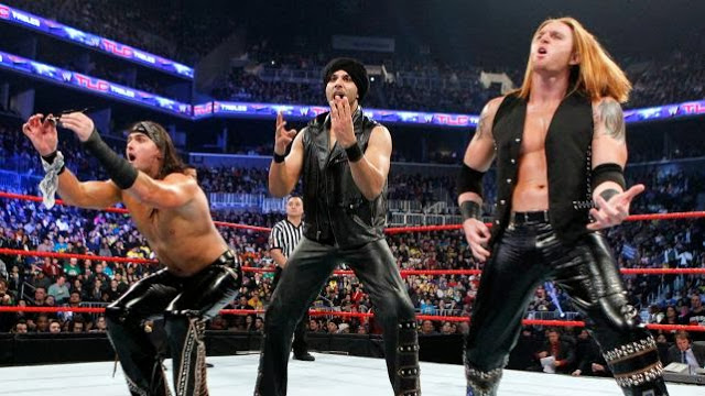 WWE 3MB / Plymouth Rockers entrance music