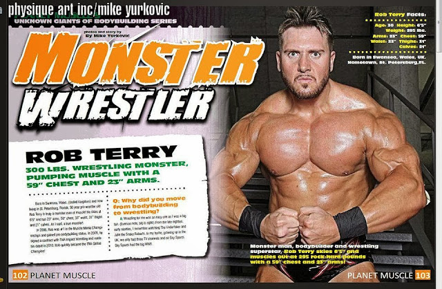 Rob Terry workout diet