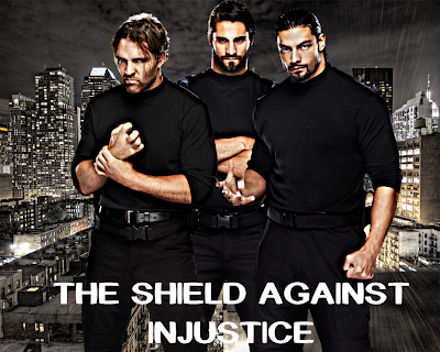 The Shield face turn