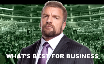 """TRIPLE H """"BEST FOR BUSINESS""""."""