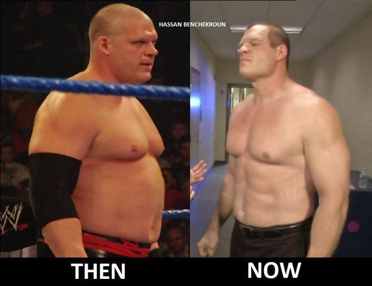 WWE Kane then & now