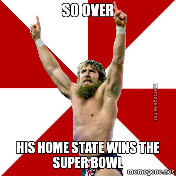 Daniel Bryan is so over that…