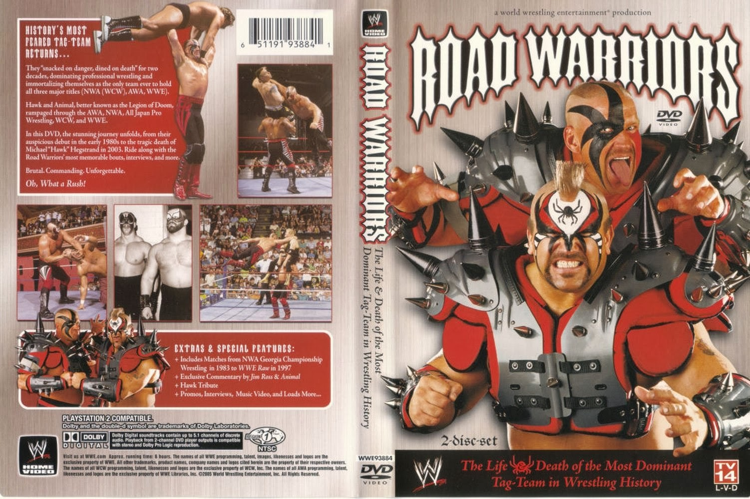 WWE Road Warriors The Life and Death of the Most Dominant Tag Team in History