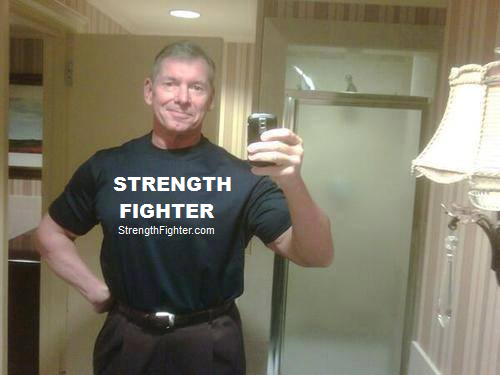 Vince McMahon supports Strength Fighter