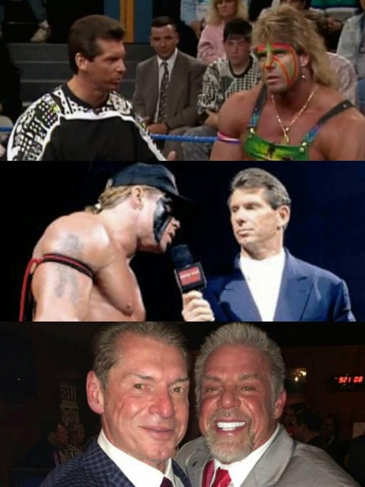 Ultimate Warrior with Vince McMahon