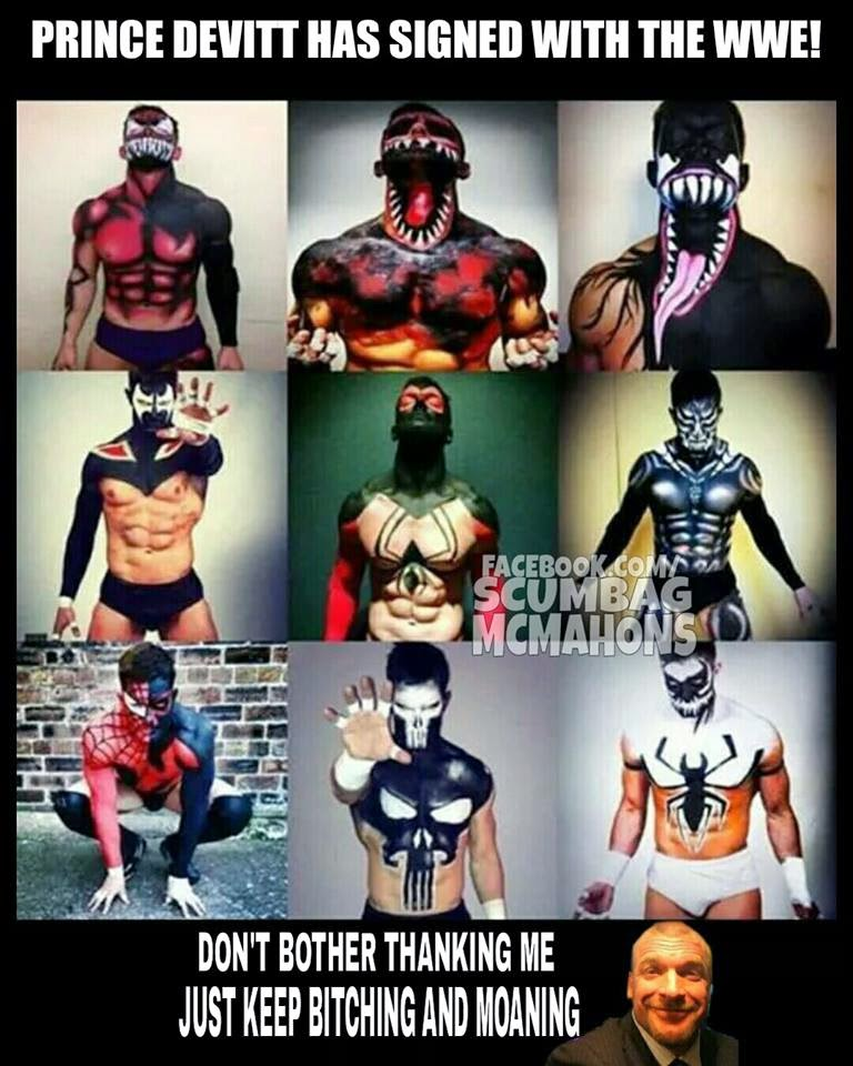 Prince Devitt has signed with the WWE