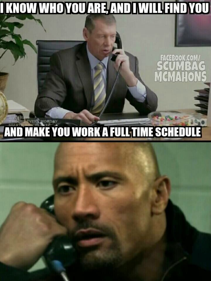 WWE wants The Rock full-time
