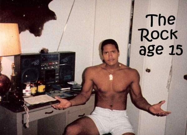 The Rock Dwayne Johnson, the genetic of a champion