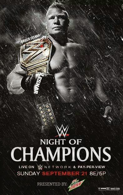 WWE Night Of Champions (live streaming)