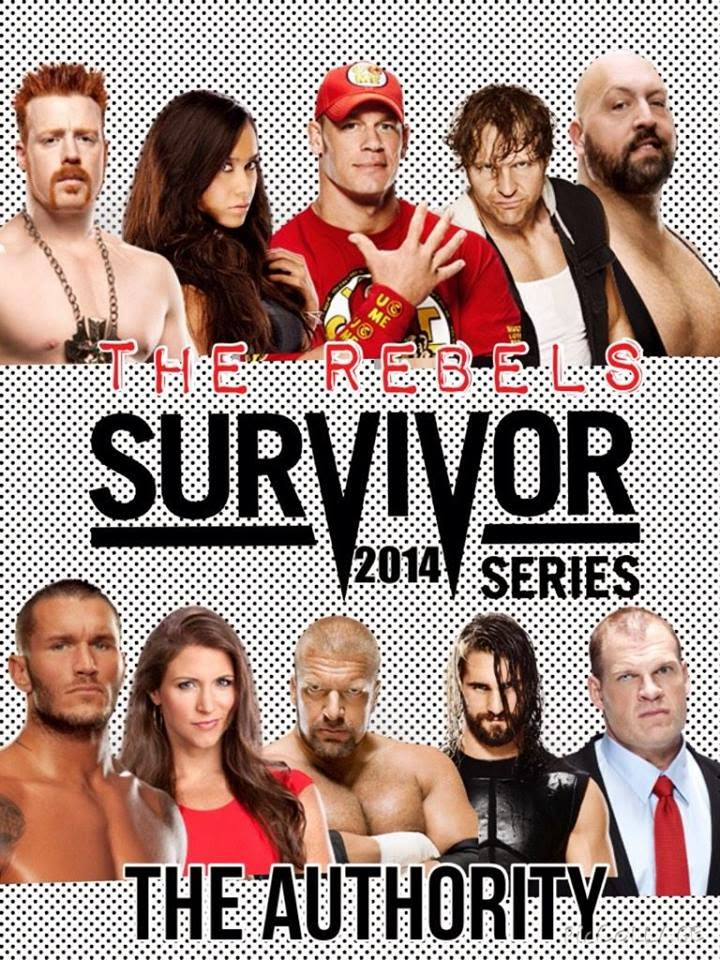 Survivor Series 2014 The Rebels vs The Authority