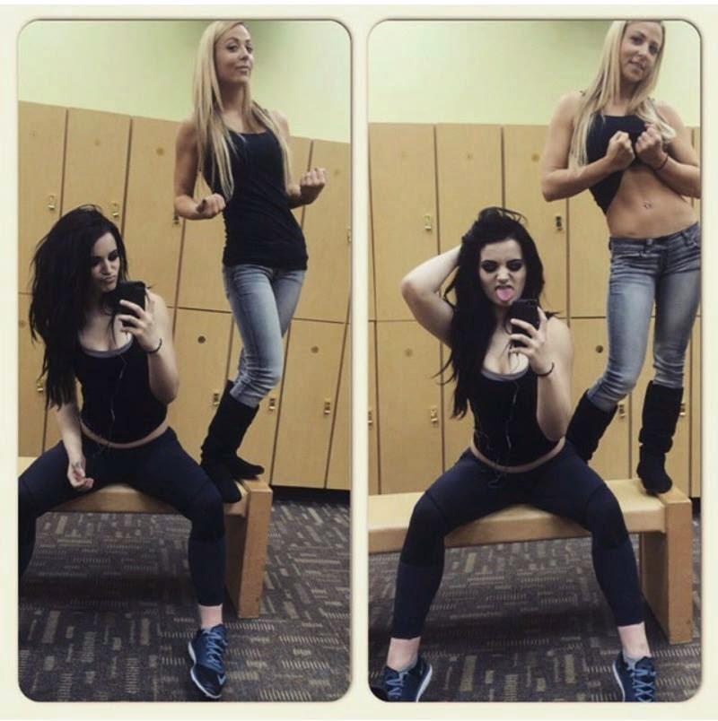 NXT / WWE Paige & Emma are hot