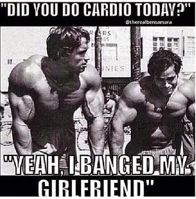 Best Cardio ever? Banging Your Girlfriend