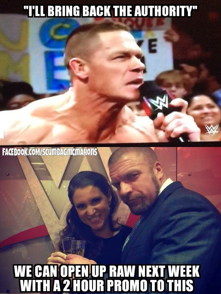 WWE first RAW of 2015