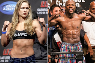 Floyd Mayweather & Ronda Rousey sure bets