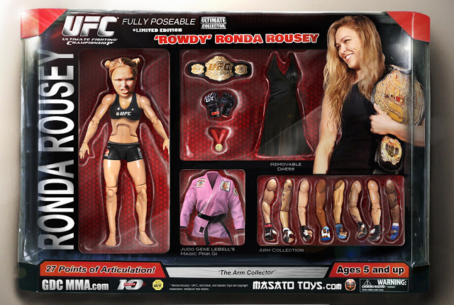Ronda Rousey unofficial action figure