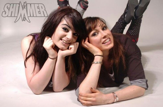 Paige & Becky Lynch before they were famous