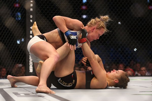 Ronda Rousey was destroyed in 59 seconds of the second round