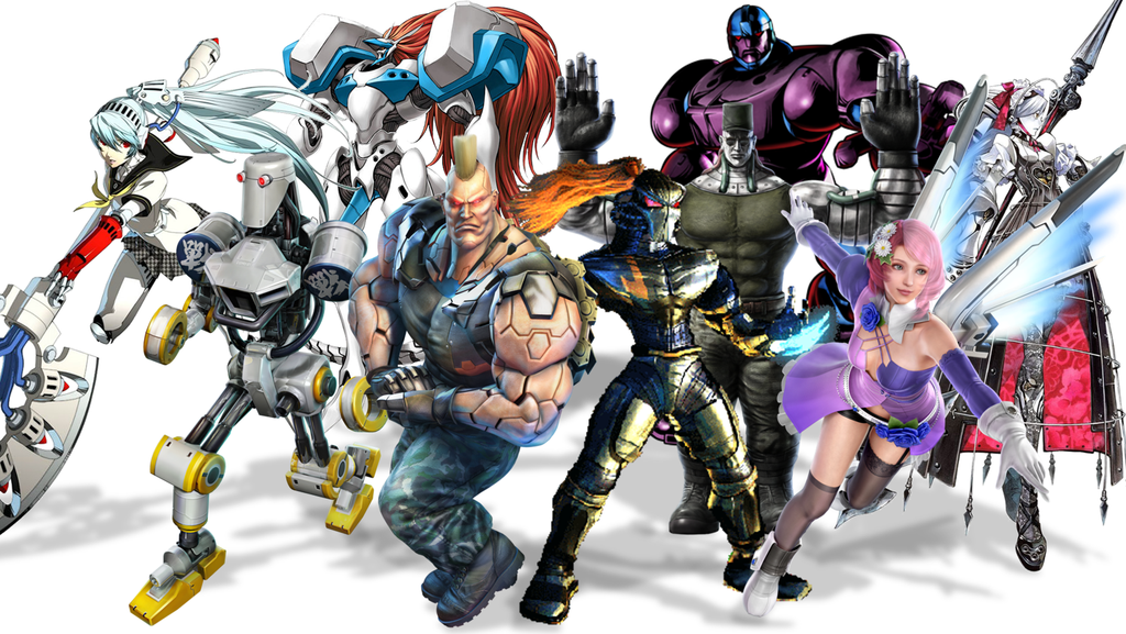 Robot Fighters in fighting video games