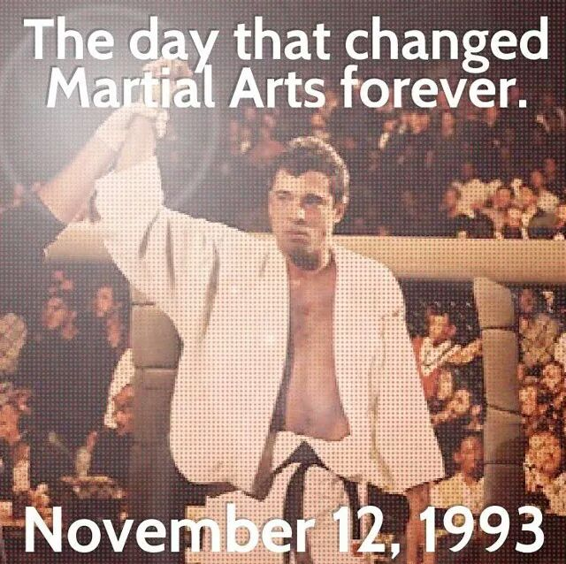 The day that changed Martial Arts forever.