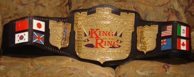 WWE King Of The Ring belt