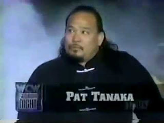 Kung Fu jobber Pat Tanaka was the first to use Goldberg entrance theme in WCW