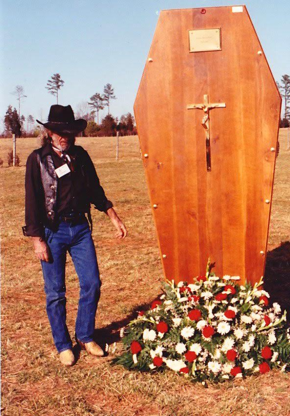 Andre the Giant casket