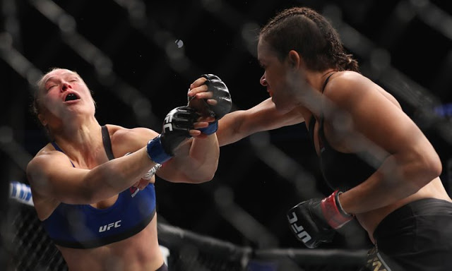 RONDA ROUSEY'S CAREER IS OVER