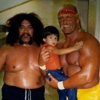 Roman Reigns as a baby