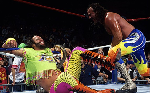 Macho Man bitten by a Cobra snake for real!!!