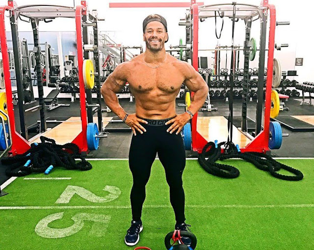 Darren Young new physique