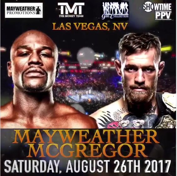Floyd Mayweather vs. Conor McGregor. Easy Gambling Money to be made