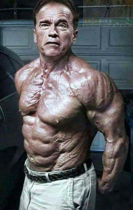 Arnold looks better at 70 than he was at 35.
