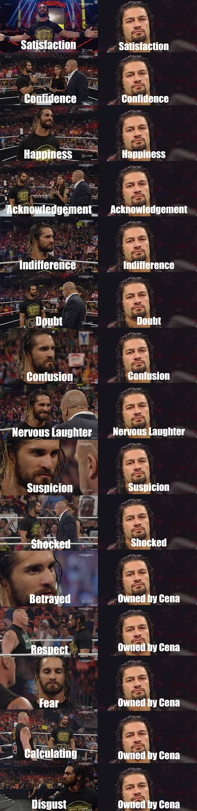 Roman Reigns can't act