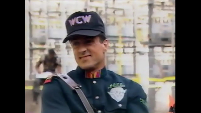 Sylvester Stallone WCW hat