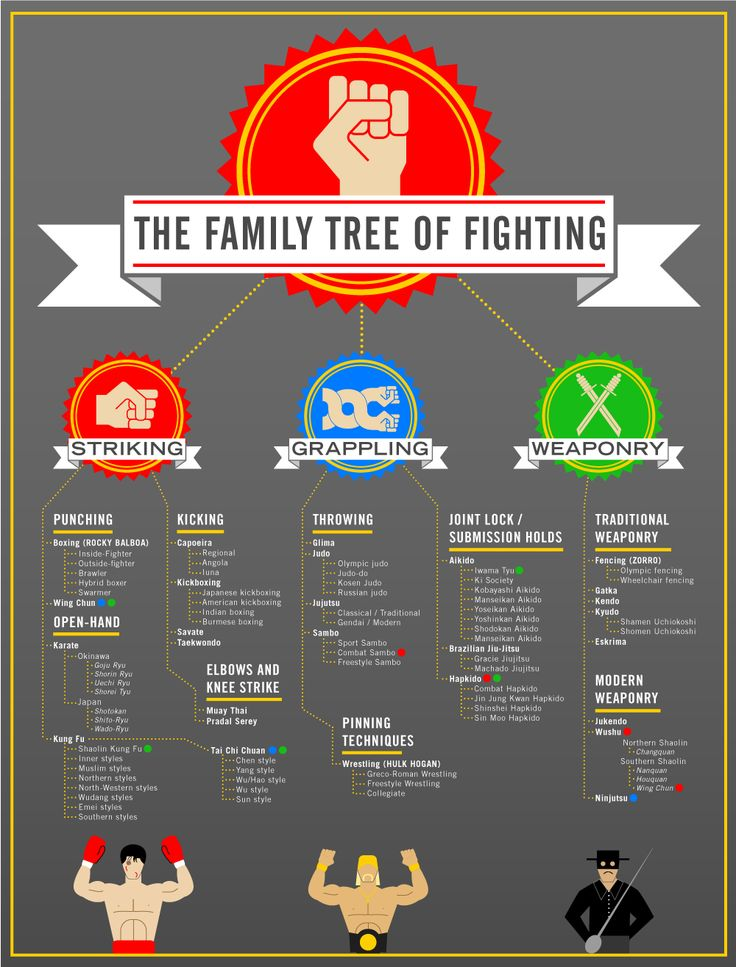 The Family Tree Of Fighting