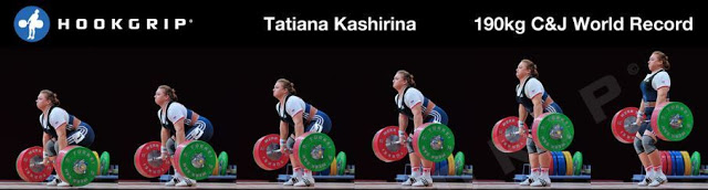 Olympic weightlifting records Men vs Women