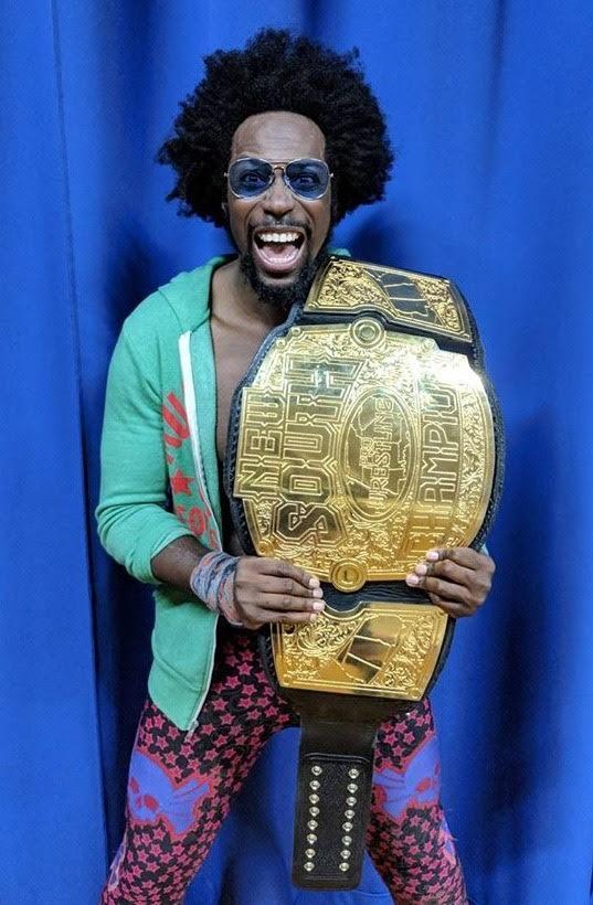 biggest damn wrestling belt ever