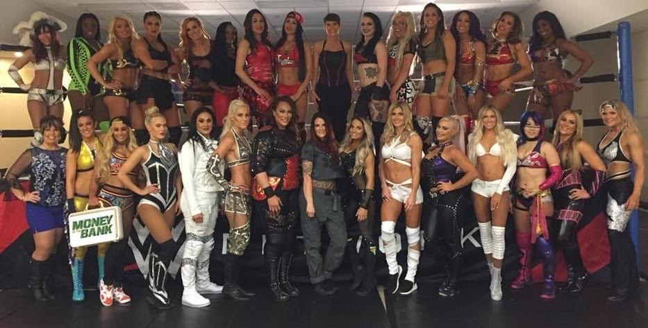 First ever Women Royal Rumble 2018