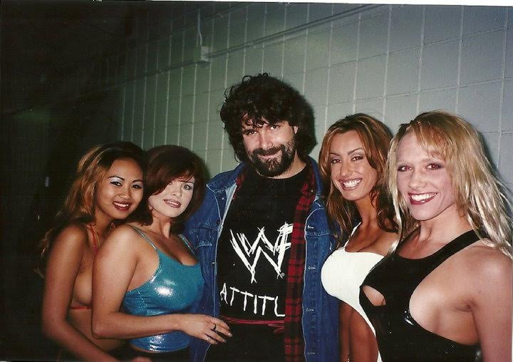 Mick Foley in agreable company