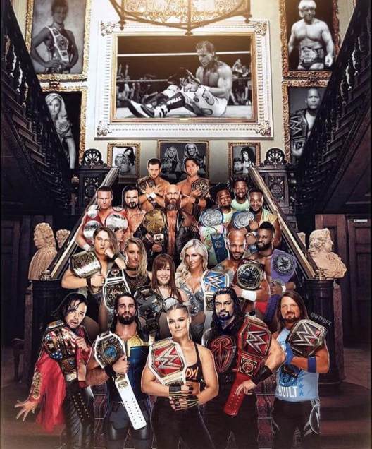 Way too many champions in wwe