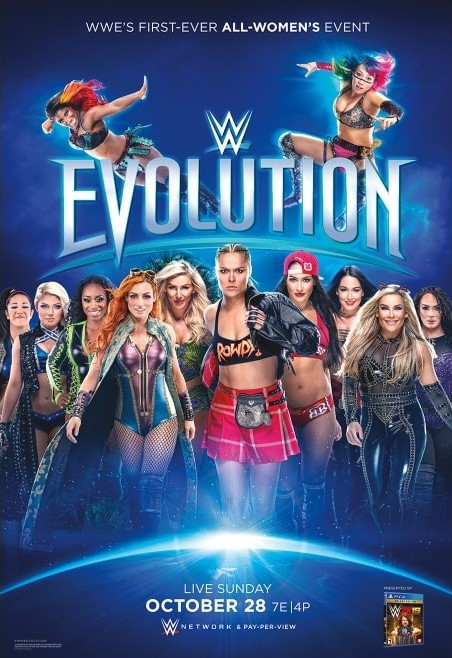 WWE Evolution. First-ever ALL-WOMEN'S Pay-Per-View.