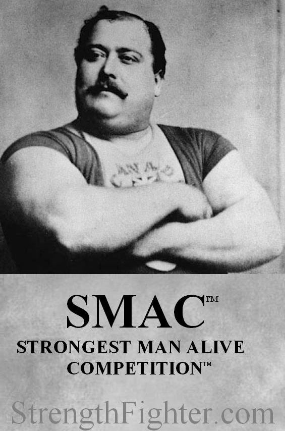 The REAL World's Strongest Man Competition