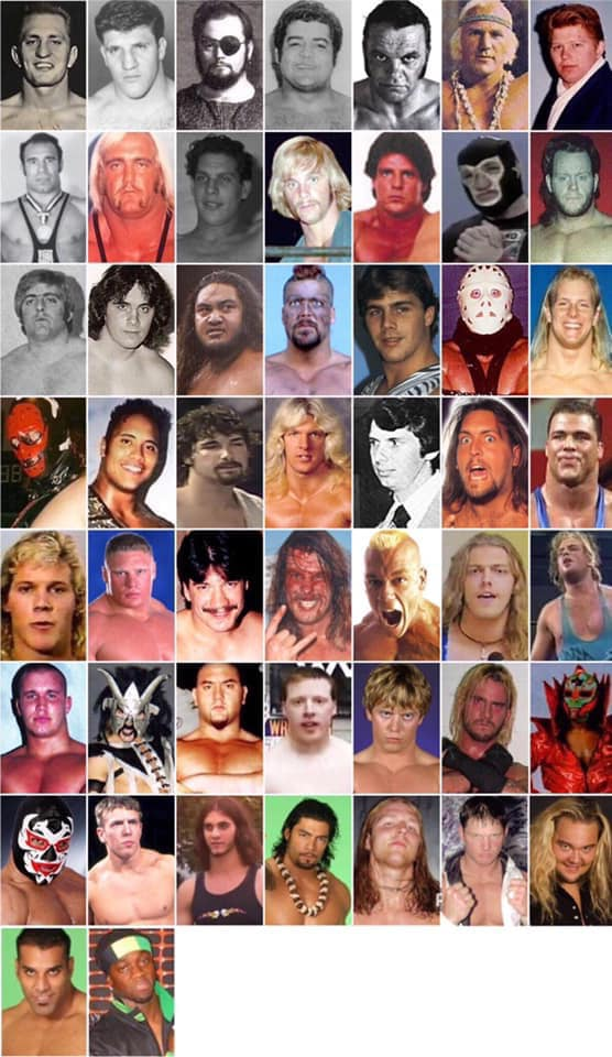 Every WWE champion early in their careers.
