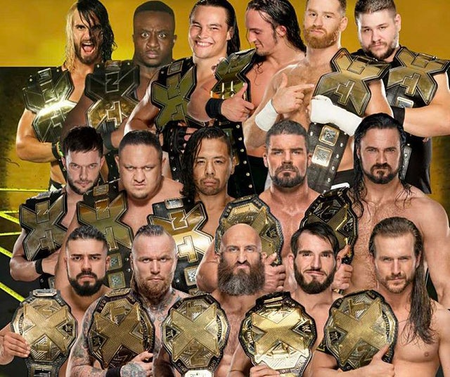 Every single NXT champion in its history